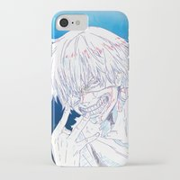tokyo ghoul iPhone & iPod Cases featuring Tokyo Ghoul  by Neo Crystal Tokyo