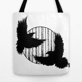 Black Birds I Tote Bag