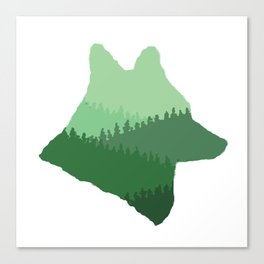 Wolf Mountains Canvas Print
