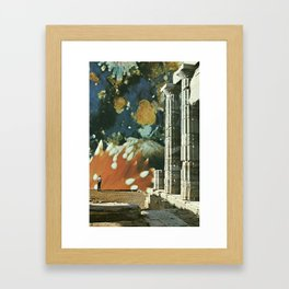 The philosopher Framed Art Print