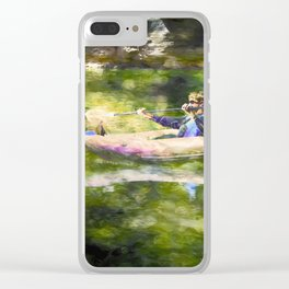 Colorado River Ducky Clear iPhone Case