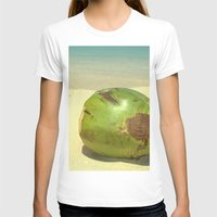 coconut wishes T-shirts featuring Coconut by Michael S.