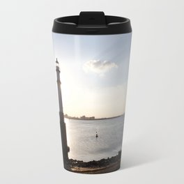 Leith Lighthouse Edinburgh Travel Mug