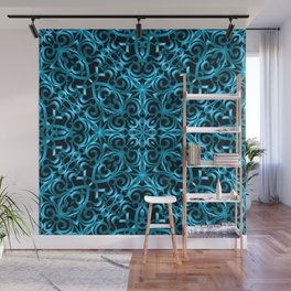 Floral Wrought Iron G44 Wall Mural