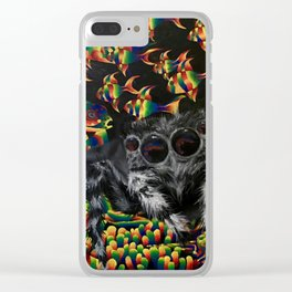 My World Is Different Clear iPhone Case