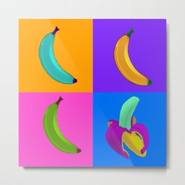 Andy's Bananas Metal Print