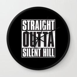 Straight Outta Silent Hill Wall Clock
