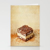 chocolate Stationery Cards featuring chocolate by lucyliu