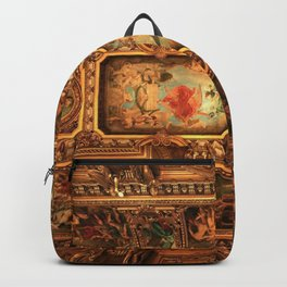 Midnight with Botticelli, Raphael, Michelangelo, & Perugino, Sistine Chapel, Rome Backpack