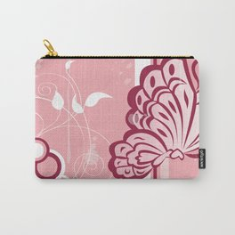 Le Beau Papillon Carry-All Pouch