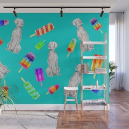 WEIMS AND POPSICLES Wall Mural