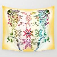 bohemian Wall Tapestries featuring Bohemian  by famenxt