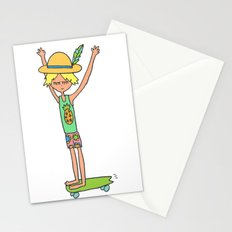 hang loose skate dude Stationery Cards
