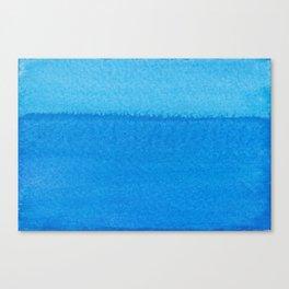Blue Ocean Up Close Canvas Print