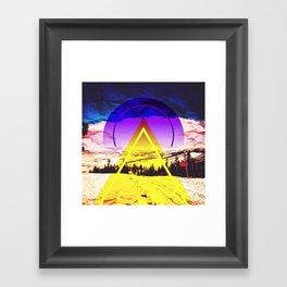 rocky mountain high colorado no.10 Framed Art Print