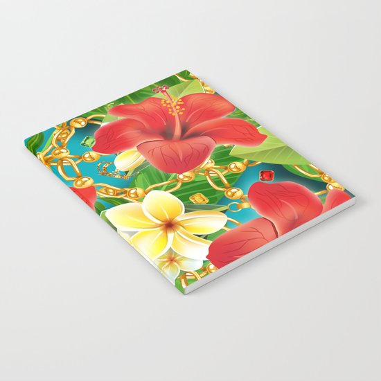 tropical color party  Notebook