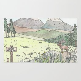 Happy Mountains Rug
