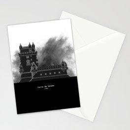 HexArchi - Portugal, Lisboa, Torre de Belém Stationery Cards