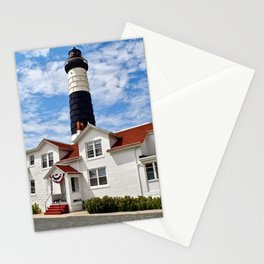 """Big Sable Point Lighthouse"" #2 Stationery Cards"