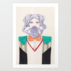 An Allusion  Art Print