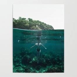 Floating Poster