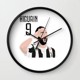 Higuain - Juventus Wall Clock