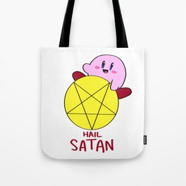 Hail Satan Tote Bag
