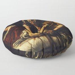 JUDITH BEHEADING HOLOFERNES - GENTILESCHI Floor Pillow