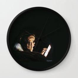 Portrait of Tara Wall Clock