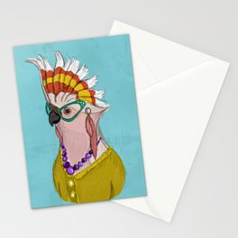 Sophisticated Bird Print Stationery Cards