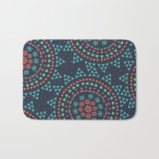 Moon Flower Bath Mat