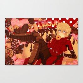 TRIGUN - Donut Heaven Canvas Print