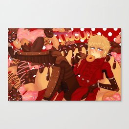 TRIGUN - Donut Heaven Canvas Print