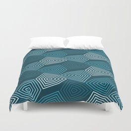 Op Art 64 Duvet Cover