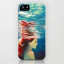 Underwater Ariel iPhone Case