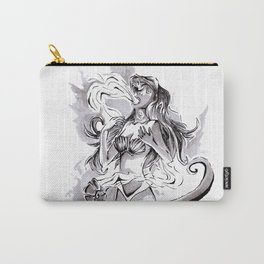 Poor Unfortunate Soul Inktober Drawing Carry-All Pouch