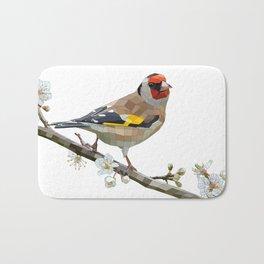 The Goldfinch Bath Mat