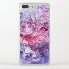 Smash Clear iPhone Case