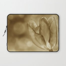 Tulip (Sepia) Laptop Sleeve