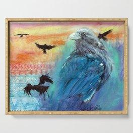 Raven Serving Tray