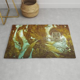 In the Kelp Forest Rug