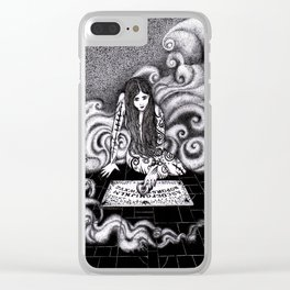 Beauty and the Board / Beauty and the Beast Clear iPhone Case