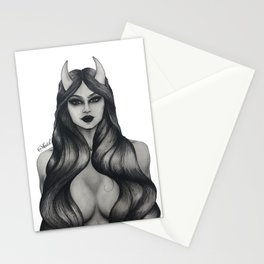 The Devil You Know  Stationery Cards