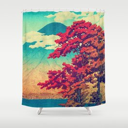 The New Year in Hisseii Shower Curtain