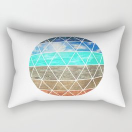Elemental Geodesic  Rectangular Pillow