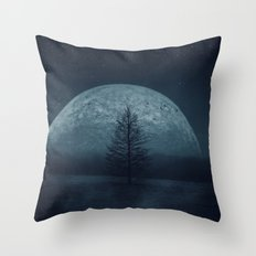 Moon Twilight Throw Pillow