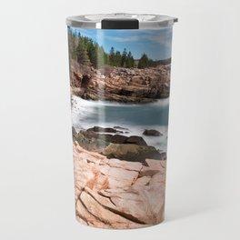 Acadia National Park - Thunder Hole Travel Mug