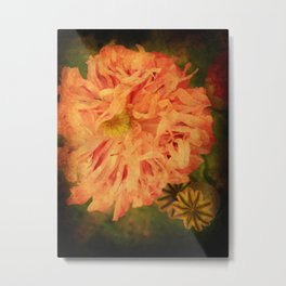 Flame Flower. Metal Print