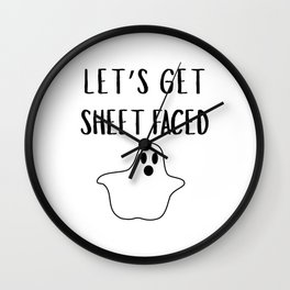 Get Sheet Faced Wall Clock