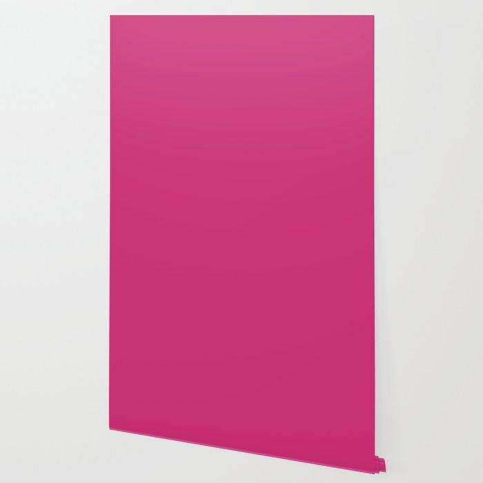 Spring 2017 Designer Colors Pink Yarrow Wallpaper